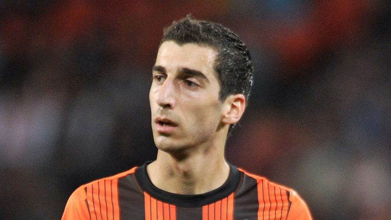 Henrikh Mkhitaryan: Subject to a ¿23 million (£19.5m) bid from Borussia Dortmund