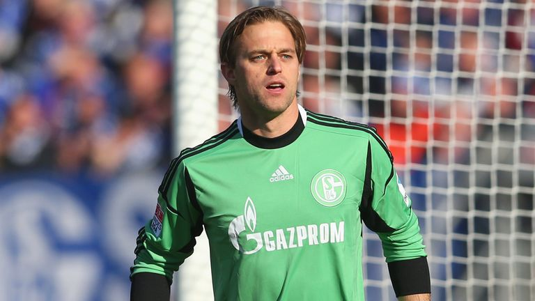 Timo Hildebrand: Schalke keeper out of contract next summer