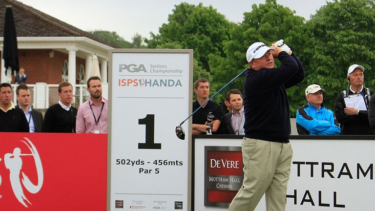 Former Ryder Cup captain Ian Woosnam had to settle for third at De Vere Mottram Hall