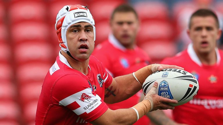 Jamie Soward: In line to make London Broncos debut on Saturday