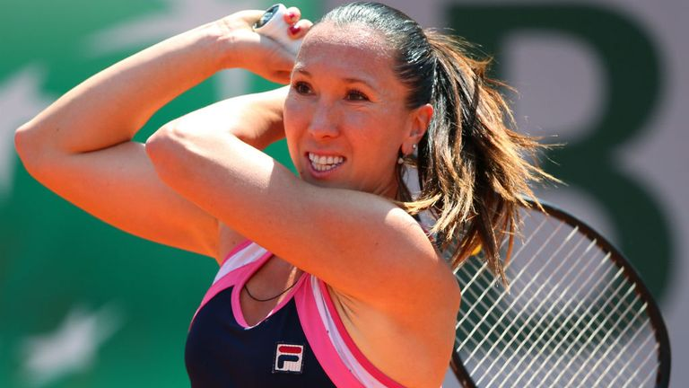 Jelena Jankovic: The top seed eased past Sweden's Johanna Larsson to reach the last eight