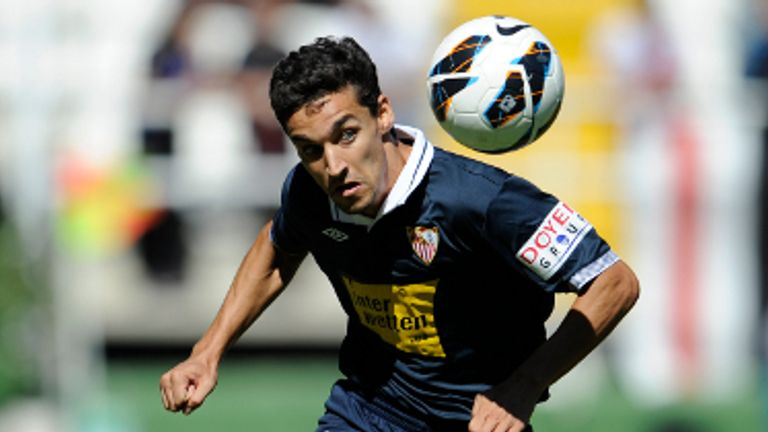 Jesus Navas: The winger is currently away with the Spanish national squad