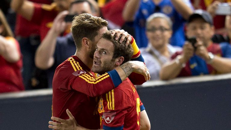 Juan Mata: No place in Spain squad