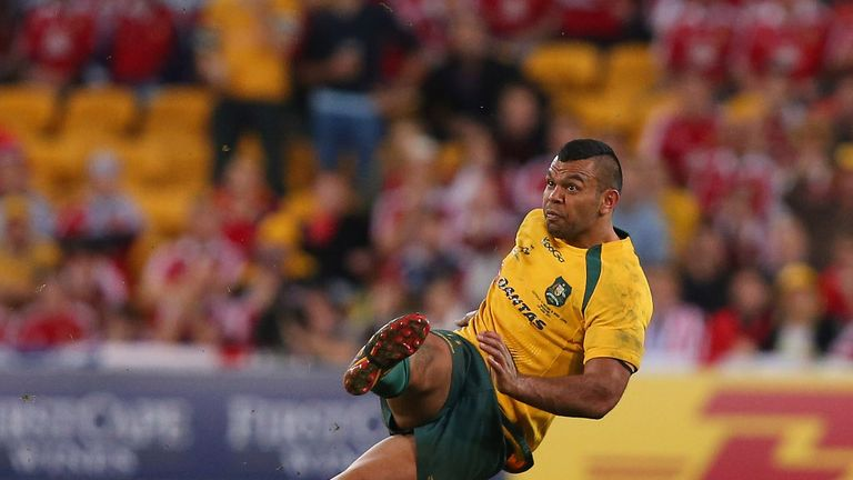 Beale: lost his feet, not his head, against the Lions