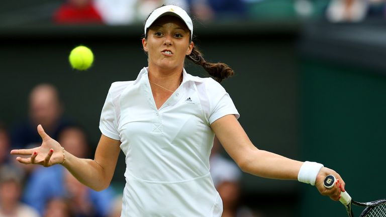 Laura Robson: Through to the third round at Wimbledon for the first time