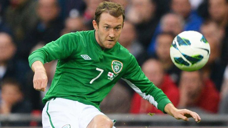 Aiden McGeady: One of three withdrawals