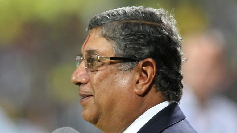 N Srinivasan: Will chair ICC board