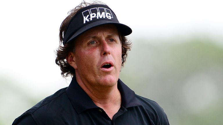 Phil Mickelson: Highest finish in The Open is third in 2004