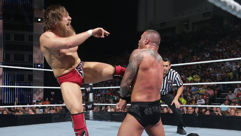 Daniel Bryan has harmed Randy Orton before - but not on Monday night