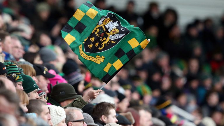 Franklin's Gardens: Home of Northampton Saints