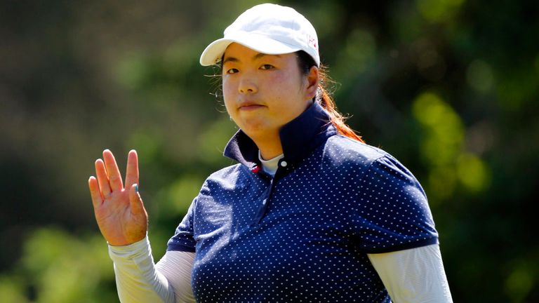 Shanshan Feng: Chinese star shines at the Titleholders