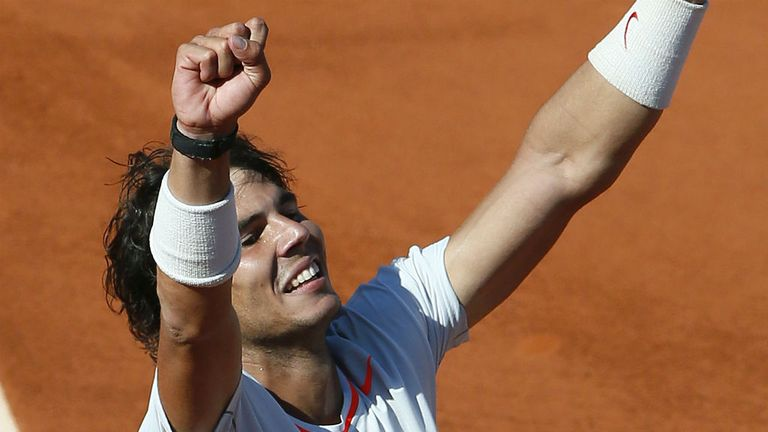 Rafael Nadal: His stunning semi-final win was the latest in a long line of impressive displays at the French Open
