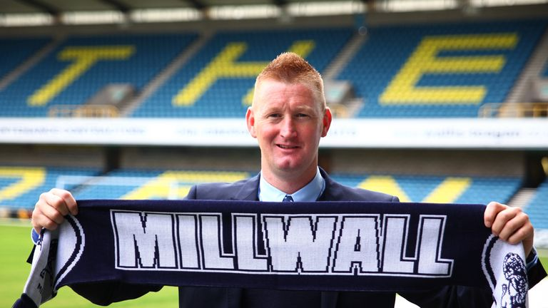 Lomas: Millwall fans have been irked by his West Ham connections