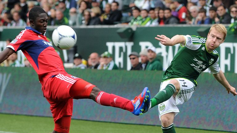 Steven Smith made 23 appearances for Portland Timbers before leaving at the end of last season