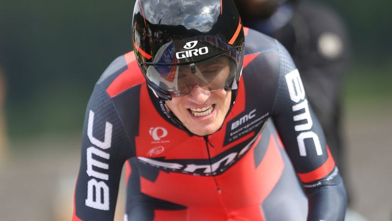 Tejay Van Garderen: On course for victory in Colorado