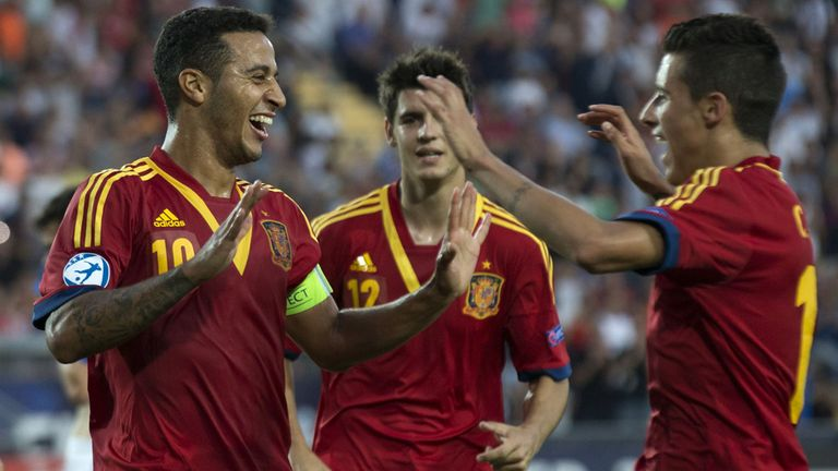 Thiago Alcantara: Spain's hat-trick hero in their European U21 Championship triumph
