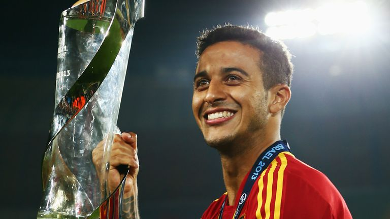 Thiago Alcantara: Enhanced his reputation with a star showing in Spain's European U21 Championship success