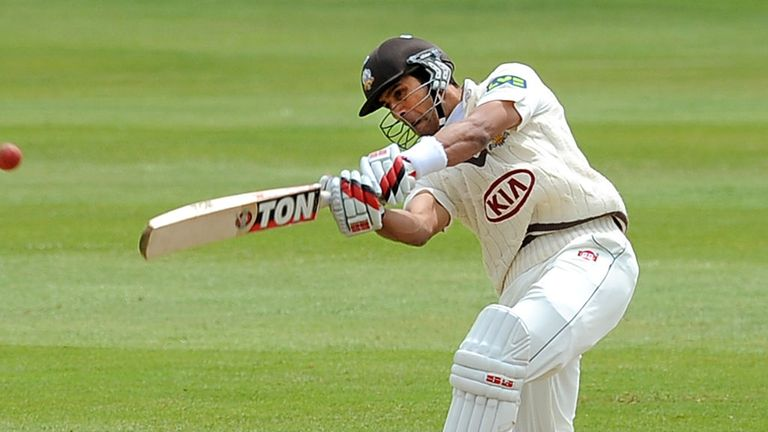 Vikram Solanki: Held the Surrey innings together with knock of 93