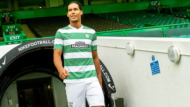 Virgil van Dijk: Highly-rated Holland U21 defender has joined Celtic