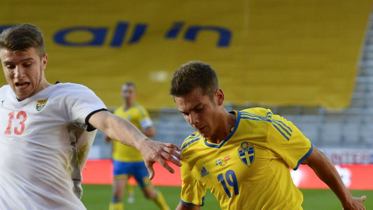 Alexander Kacaniklic: Scored Sweden¿s winner in narrow victory over Macedonia