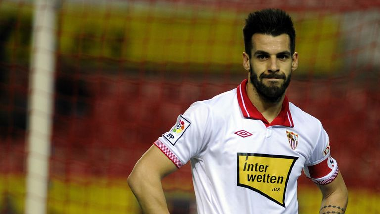 Alvaro Negredo: Sevilla striker wants to leave