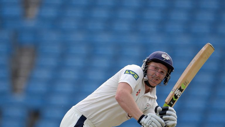 Andrew Gale: Became first Yorkshire batsman to reach 1,000 first-class runs