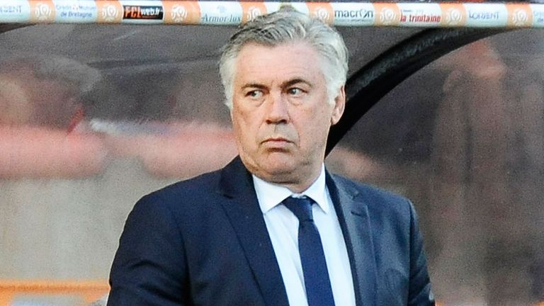 Carlo Ancelotti: On the move to Real Madrid after Paris sojourn