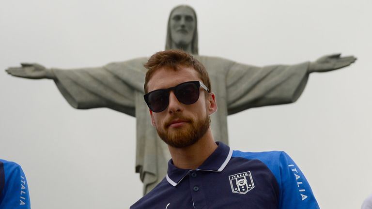 Claudio Marchisio: Takes time out ahead of Italy's Confederations Cup campaign