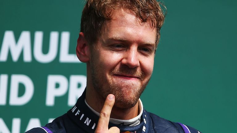 Sebastian Vettel: Insists tyre safety has been his central concern