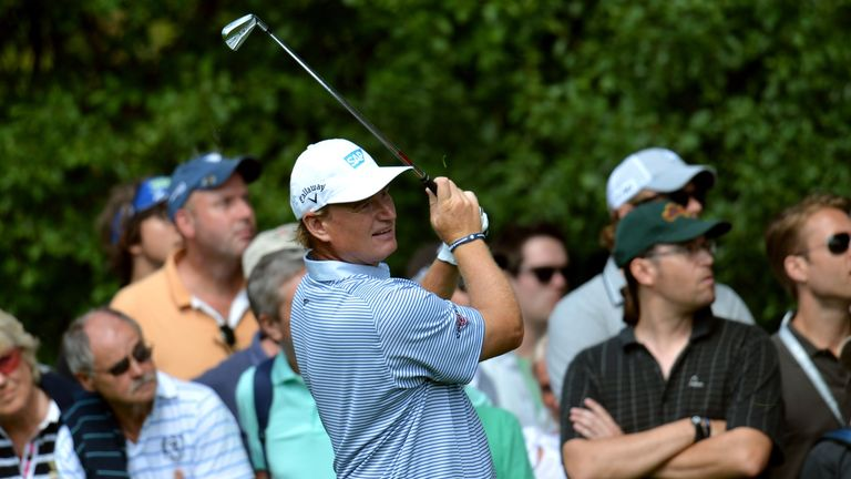 Ernie Els: South African is gearing up for his Open Championship defence at Muirfield in July
