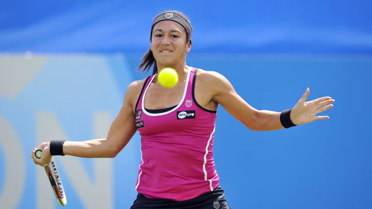 Heather Watson: British number two faces Elena Vesnina next