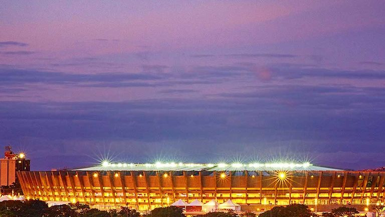Mineirao Stadium: Belo Horizonte will host Brazil v Uruguay semi-final