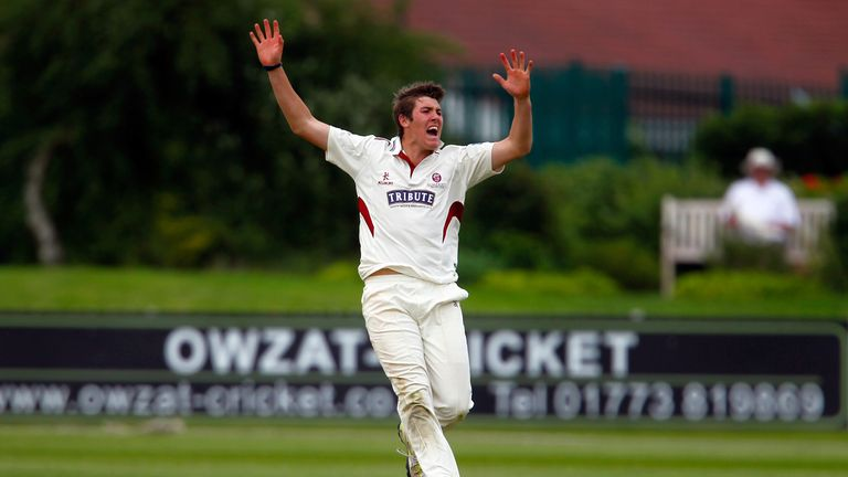 Jamie Overton: Reprimanded for dangerous bowling against Notts