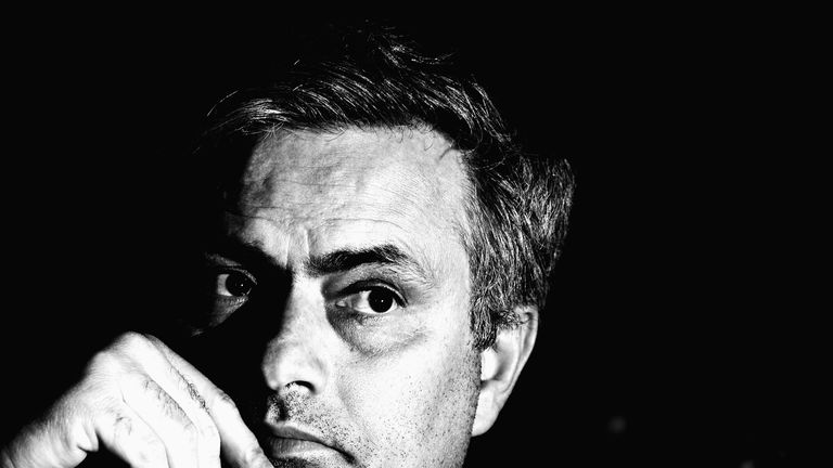 The Special One in a reflective mood as he ponders his next verbal bombshell