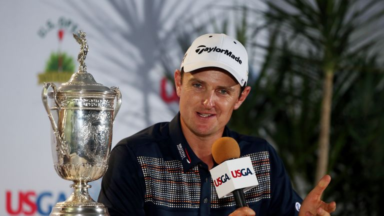 Justin Rose: Inspired by a text message from Masters champion Adam Scott