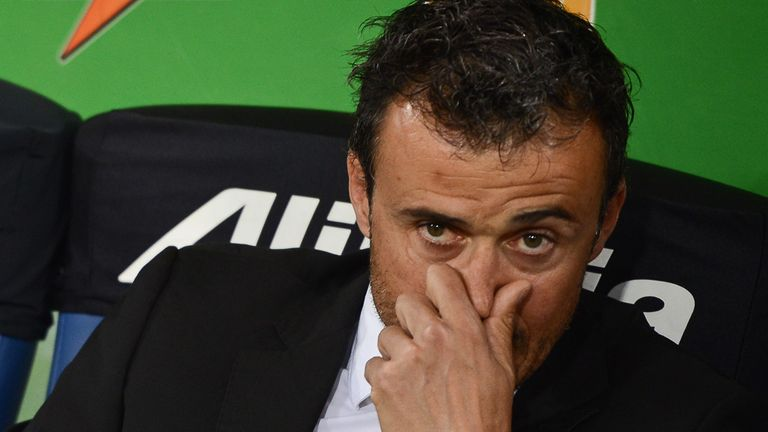 Luis Enrique: Considered a strong contender despite taking over at Celta just last month
