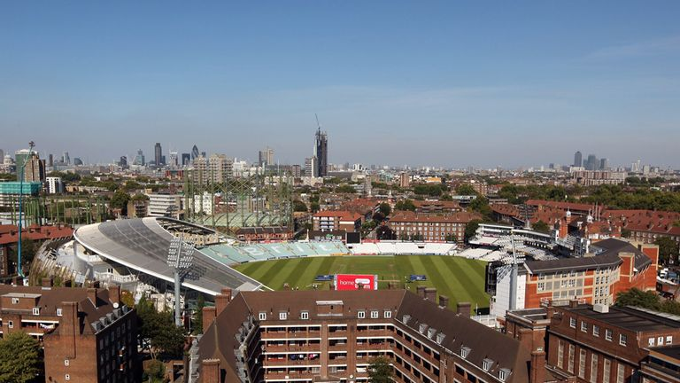 The Oval will host the final Test of the 2013 Ashes series
