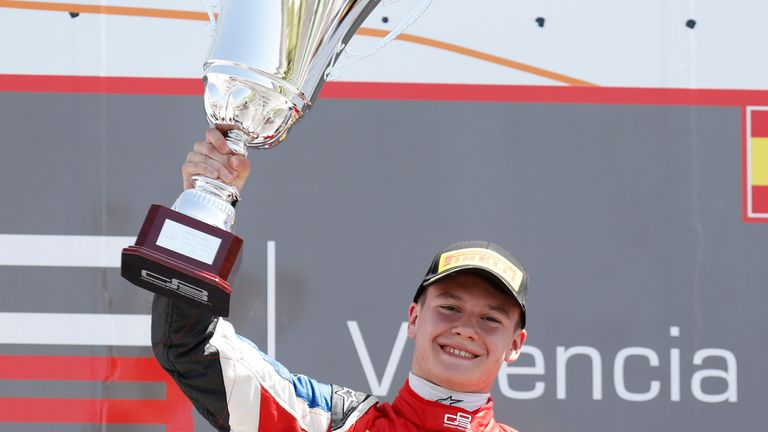 Robert Visoiu: Took victory in Race Two (Image: GP3 Series Media)