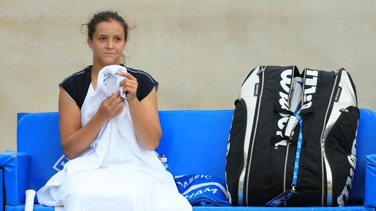 Laura Robson: Mulling her future with Miles Maclagan
