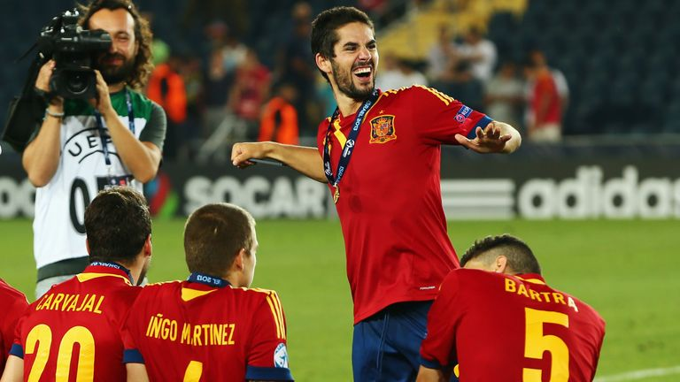 Isco (centre): Real Madrid move