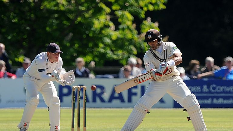 Vikram Solanki: Surrey right-hander's 130 contained 15 fours and two sixes