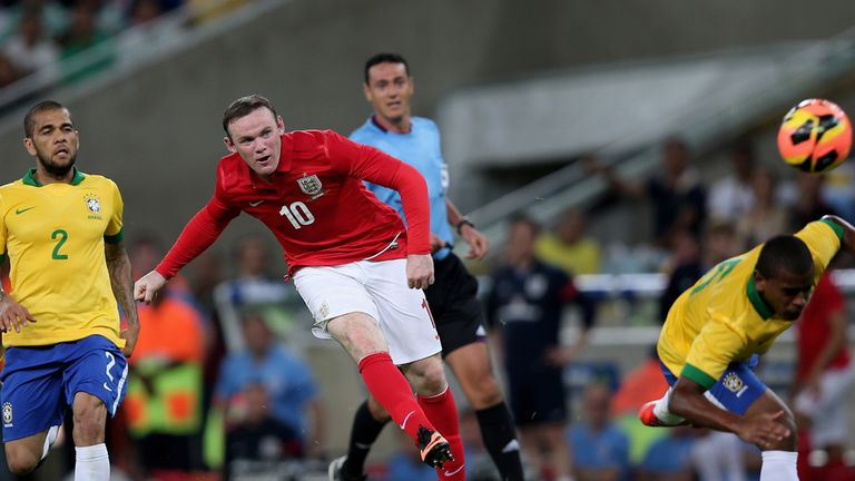 Wayne Rooney: Scored an eye-catching goal against Brazil in Rio on Sunday