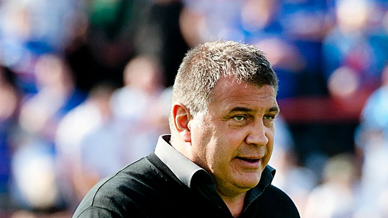 Shaun Wane: Proud of his side despite the late errors