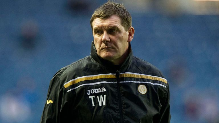 Tommy Wright: Promoted to top job at McDiarmid Park