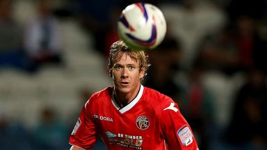 Dean Holden: Pens new Saddlers deal