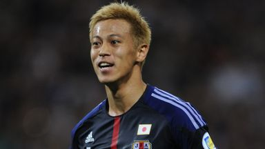 Keisuke Honda: Milan to move in January for the Japan striker