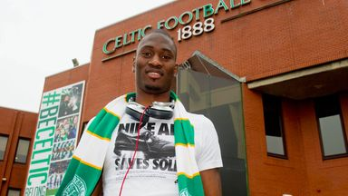 Amido Balde: The striker's arrival could lead to questions about Gary Hooper