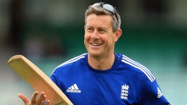Ashley Giles: Encouraged by performance of younger players