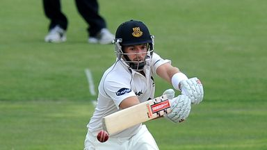 Chris Nash: Sussex opener finished on 102 not out