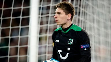 Ron-Robert Zieler: Disappointed to have been left out by Germany